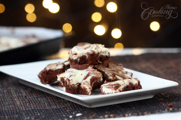 Chocolate and Cream Cheese Marbled Brownies | Recipe