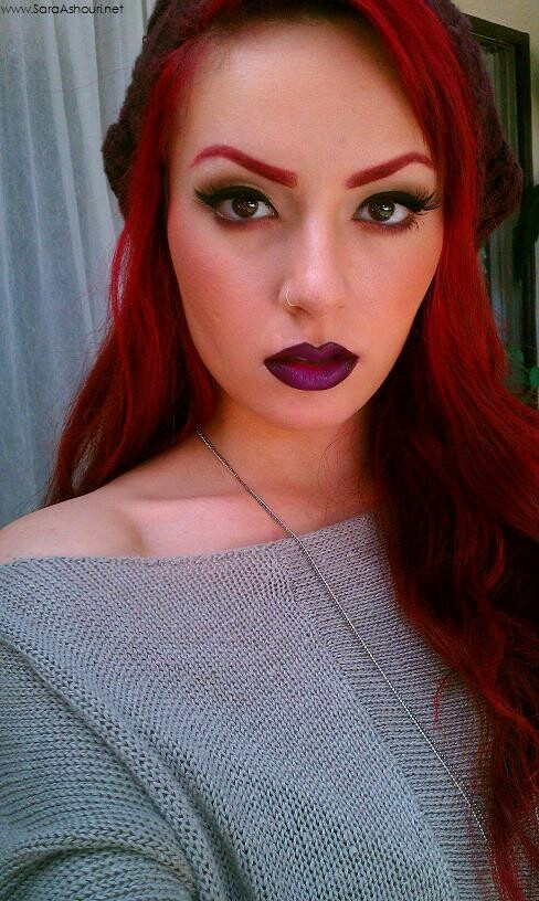 red hair plum lips body art pinterest back to red lips and i am. Black Bedroom Furniture Sets. Home Design Ideas