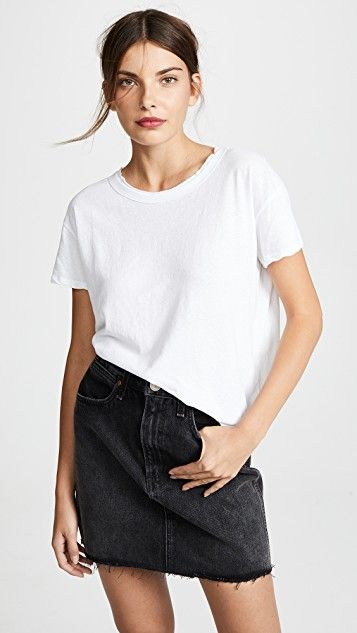 1757c25ace1 Boxy Tee | tops | James perse, Shirt style, Tees