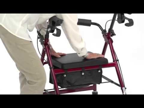 Video on Rollator walkers. whether just feeling unstable on your feet,have Arthritis in your lower back as I do,or you may have had a hip operation or broken leg. A mobility scooter is the way to go. Walking Assistance Equipment - Mobility and Daily Living Aids