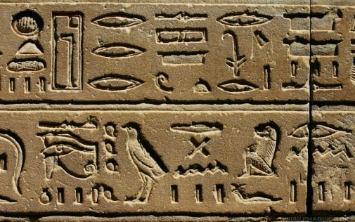 An Egyptian hieroglyphic dictionary : with an index of