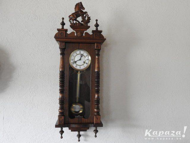 Massief houten klok, Klokken, Genk | Kapaza.be