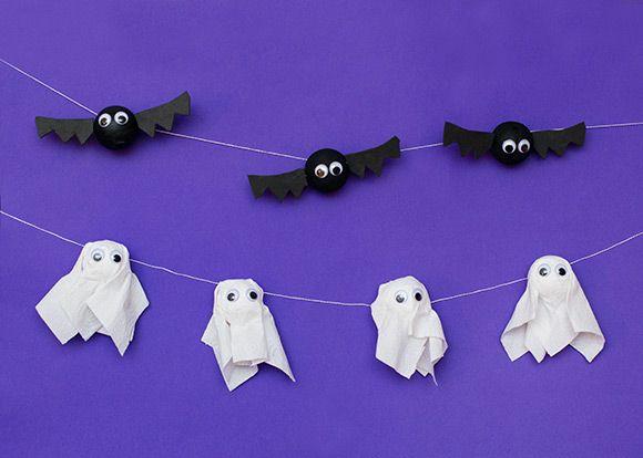 Let's make... spooky Halloween bunting   Kiddicare Blog: Kiddicare Blog, Buntings, Spooky Halloween