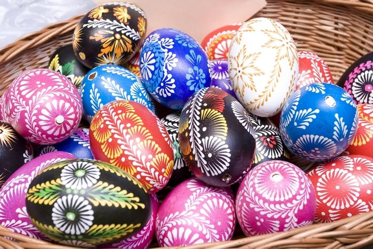 Pisanki - the decorated Easter eggs in Poland