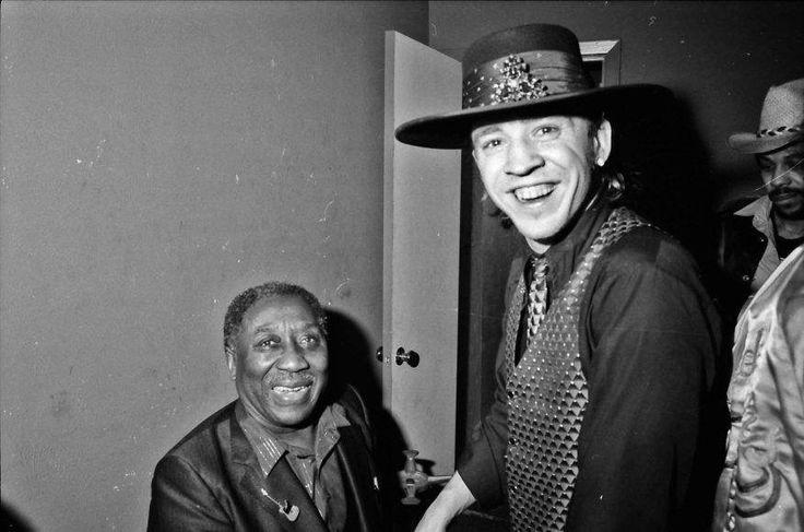 Muddy Waters & Stevie Ray Vaughan