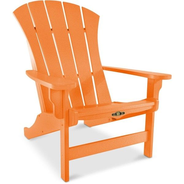Marvelous Sunrise Adirondack Chair ($699) ❤ Liked On Polyvore Featuring Home,  Outdoors, Patio