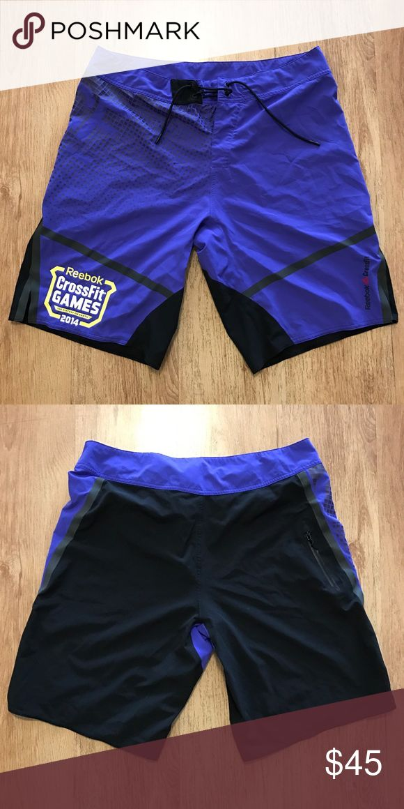 Reebok CrossFit Games 2014 Shorts Purple games edition CrossFit shorts. Reebok Shorts Athletic