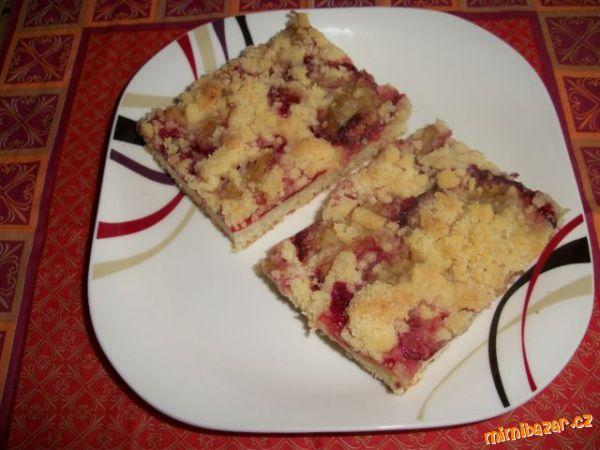 MOUČNÍKY, POHÁRY - Švestkový koláč- lžícový recept od paní Stelly Zázvorkové