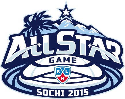 KHL All-Star Game Primary Logo (2015) - 2015 KHL All-Star Game - Sochi