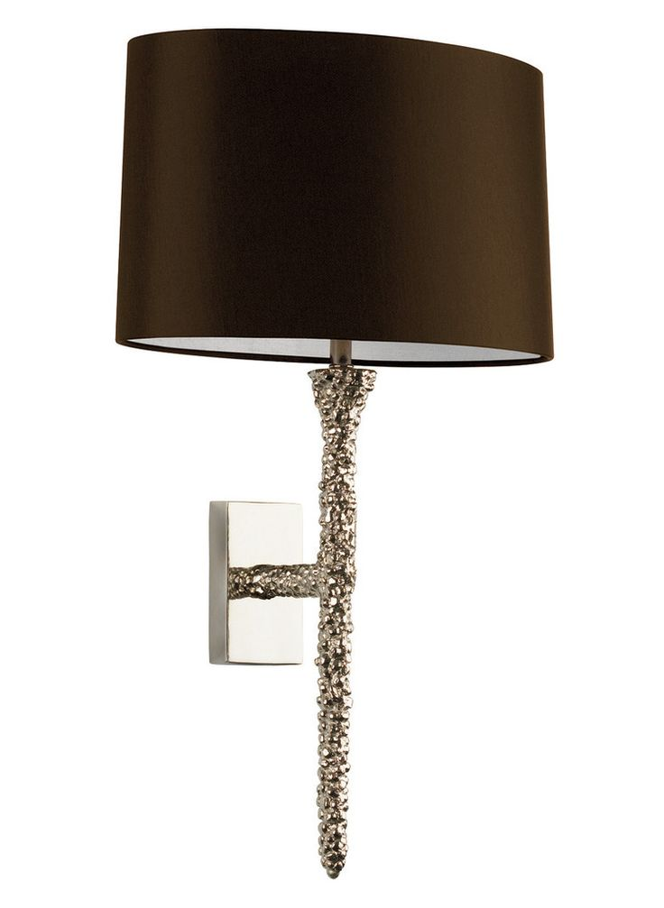 Elegant Designer Silver Spindel Wall Light / Sconce Inspiring Interior  Design Fans With Unique Luxury Hollywood. Contemporary ...