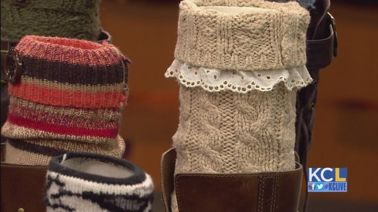 KCL - How to make DIY Boot Socks...buy your sweaters at a thrift shop