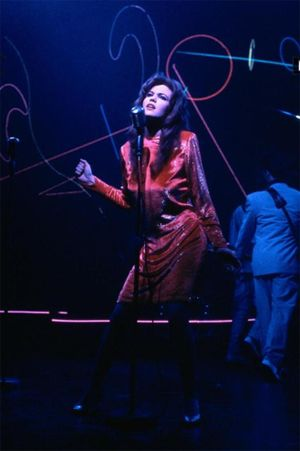 diane lane's red dress from streets of fire design - Google Search