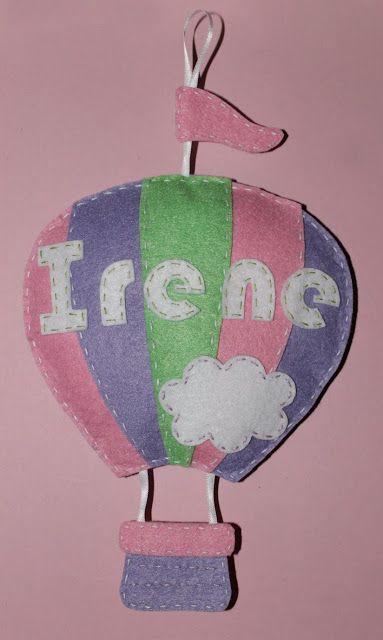 cocodrilova: nombre globo para la habitacion de Irene  #nombrehabitacionbebe   #decoracion   #bebe   #nombre   #globo   #handmade