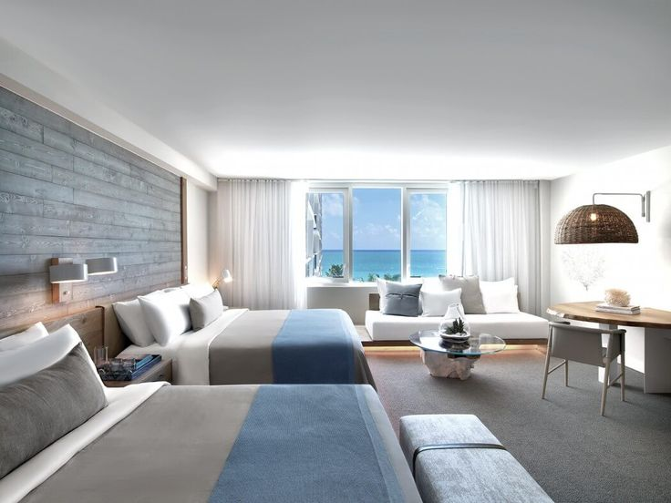 Hotel Chique Slaapkamer : One Hotel South Beach Miami