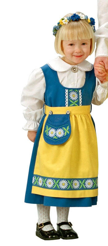 $148 Swedish Dress - Child