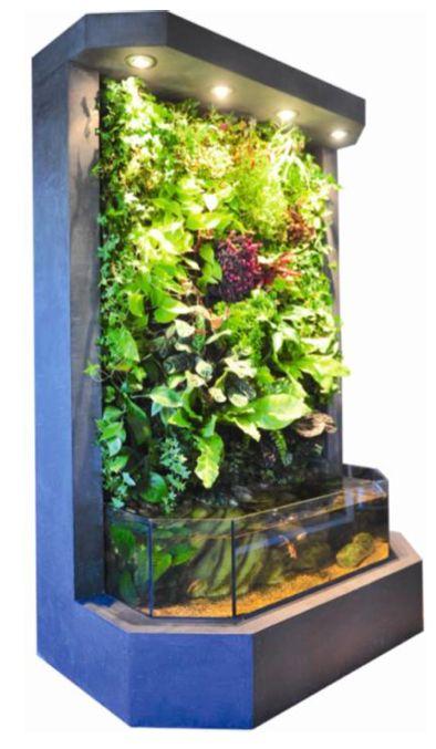 91 best images about aquarium aquaponie on pinterest for Mur vegetal aquarium