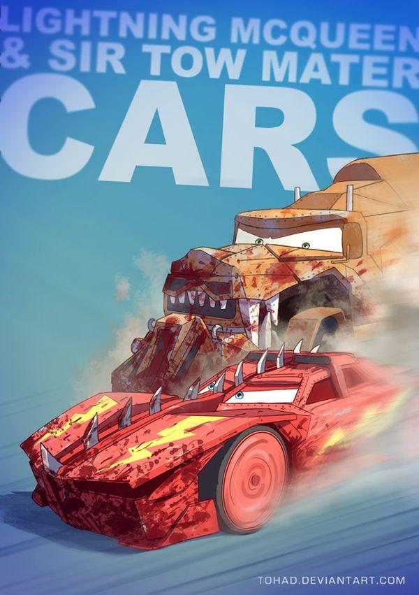 Badass Cartoon Series by Sylvain Sarrailh Cars