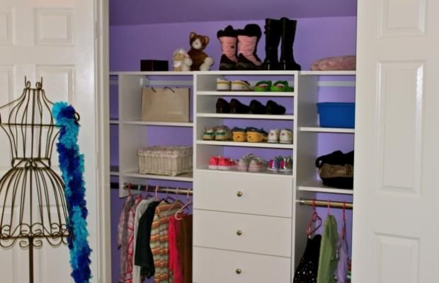 Do It Yourself Home Design: Closet Organizers Do It Yourself