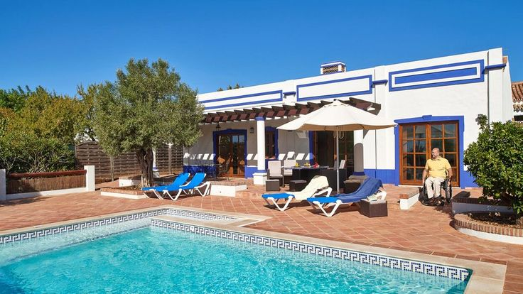 Boliqueime, Portugal.  Wheelchair friendly, private terrace and Pool with ramp