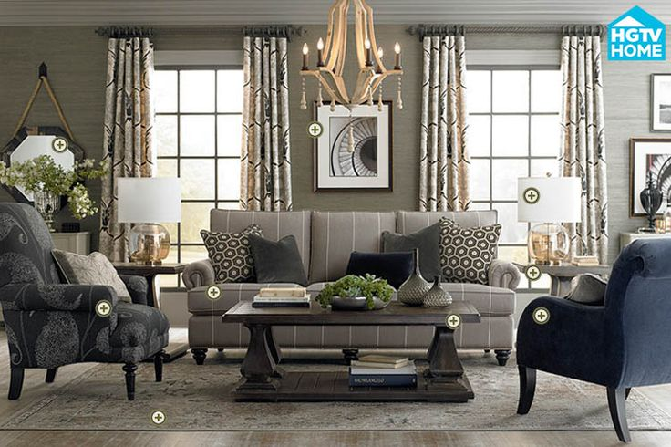 Rooms we love bassett furniture emporium collection for Furniture emporium