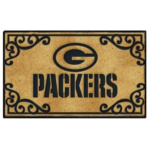 Green Bay Packers Door Mat By The Memory Company. $34.99. Coir Fiber Door  Mat