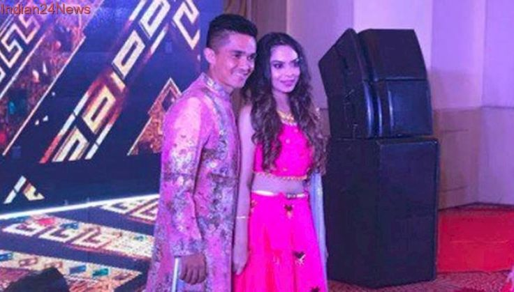 Wedding bells for Sunil Chhetri! Indian captain gets engaged to Sonam Bhattacharya, see pics