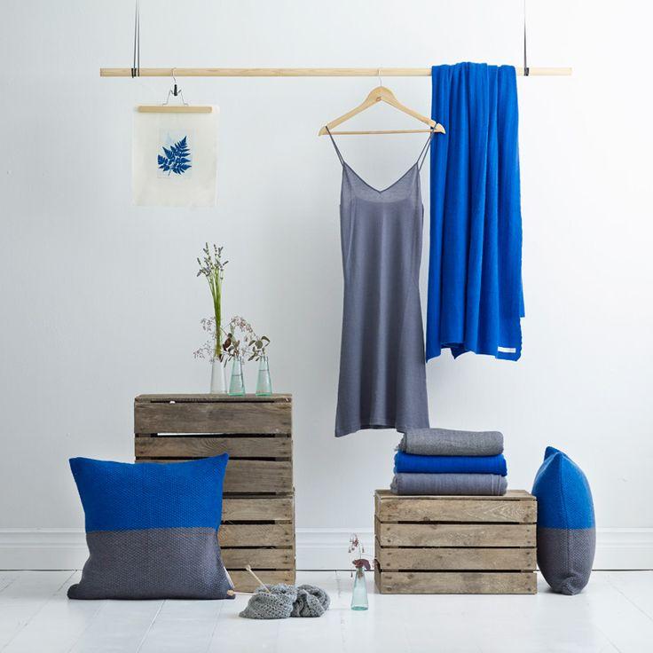 blue cashmere - sustainable design