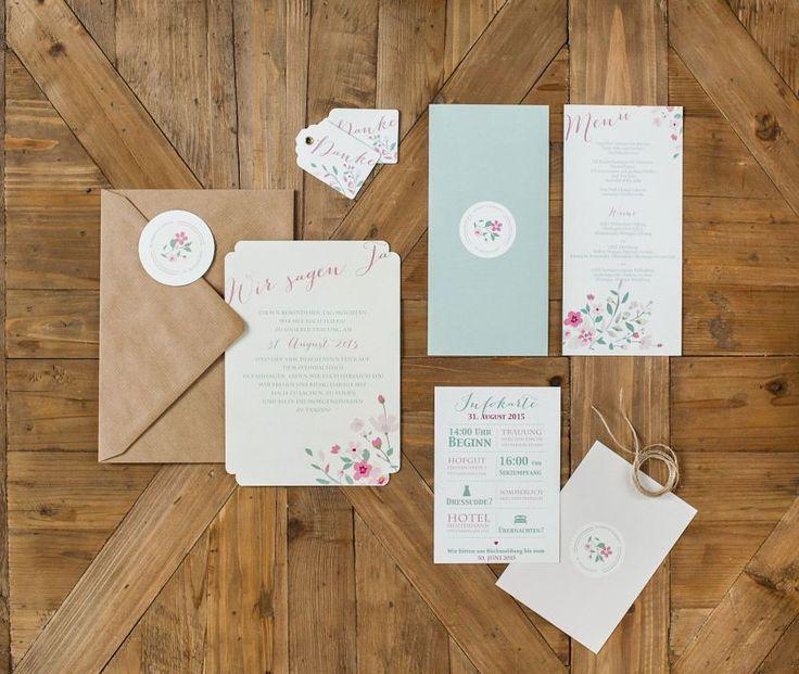 23 besten Dankeskarten Hochzeit Bilder auf Pinterest