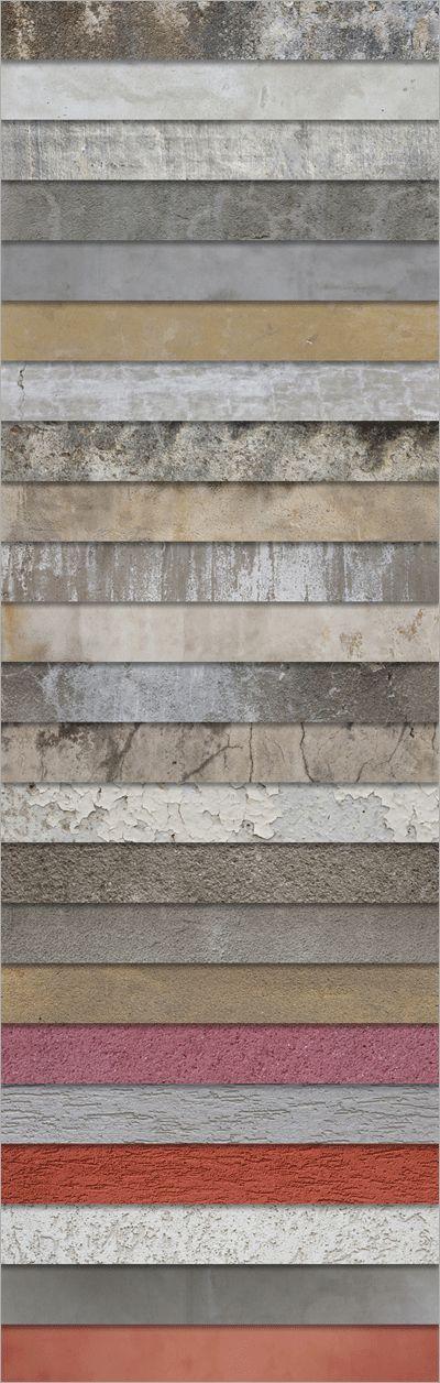 テクスチャのキャプチャ Plaster and Concrete Textures...