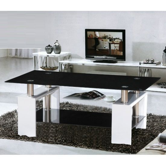 1000+ Ideas About Black Glass Coffee Table On Pinterest