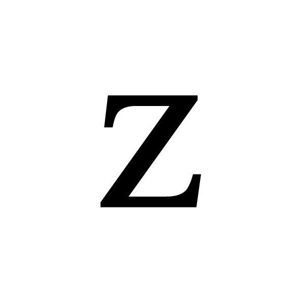 Wrought Iron Letter Z: Willowtreehome.com found on Polyvore featuring polyvore, letters, words, text, letters and numbers and letras