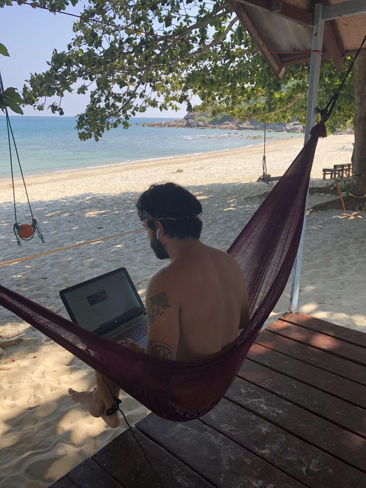 My office for the next week (Bottle Beach Thailand