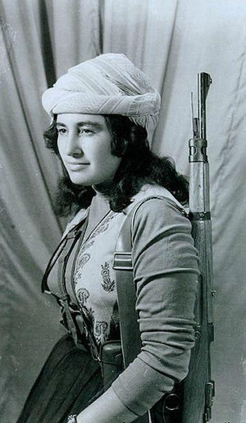 The legendary freedom fighter, the Christian Kurdish girl from Southern Kurdistan Margaret Shello