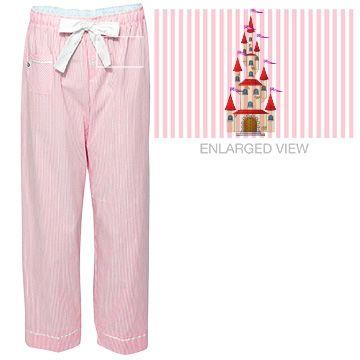 Castle Dreams Seersucker Pajama Pants