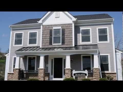 12 best augusta home design images on pinterest exterior for Heartland homes pittsburgh floor plans