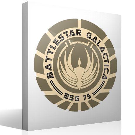 Stickers muraux Battlestar Galactica