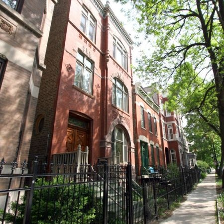 Chicago brownstone  -----    Actually Chicago Is My Home Town & Born In Joliet, Illinois - (dm)