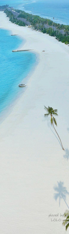 Arenas blancas, mar, cielo azul, de ensueño!!!♡