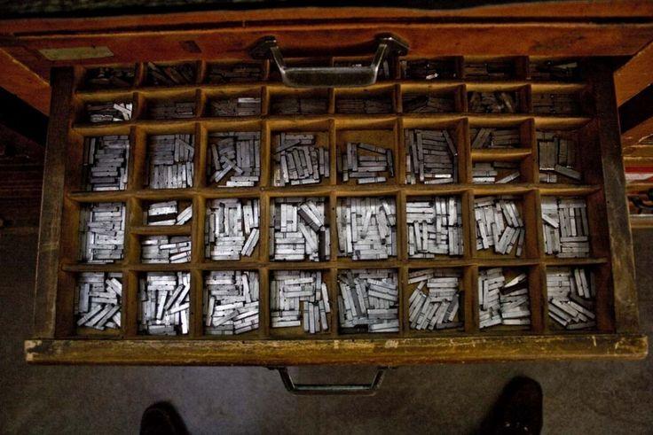 Milano, l'ultima tipografia fedele a Gutenberg
