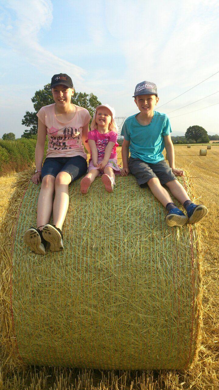 Robin, Madisyn and Adam enjoying summer fun.