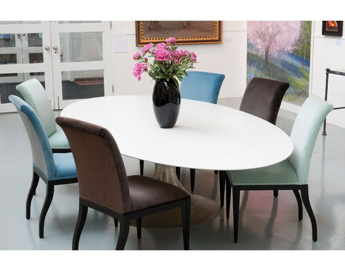 Dakota Dining Table In Tough Lacquer Finish