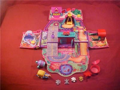 Pound Puppy miniature play set that folded up into the pound puppy van! I used to love that thing