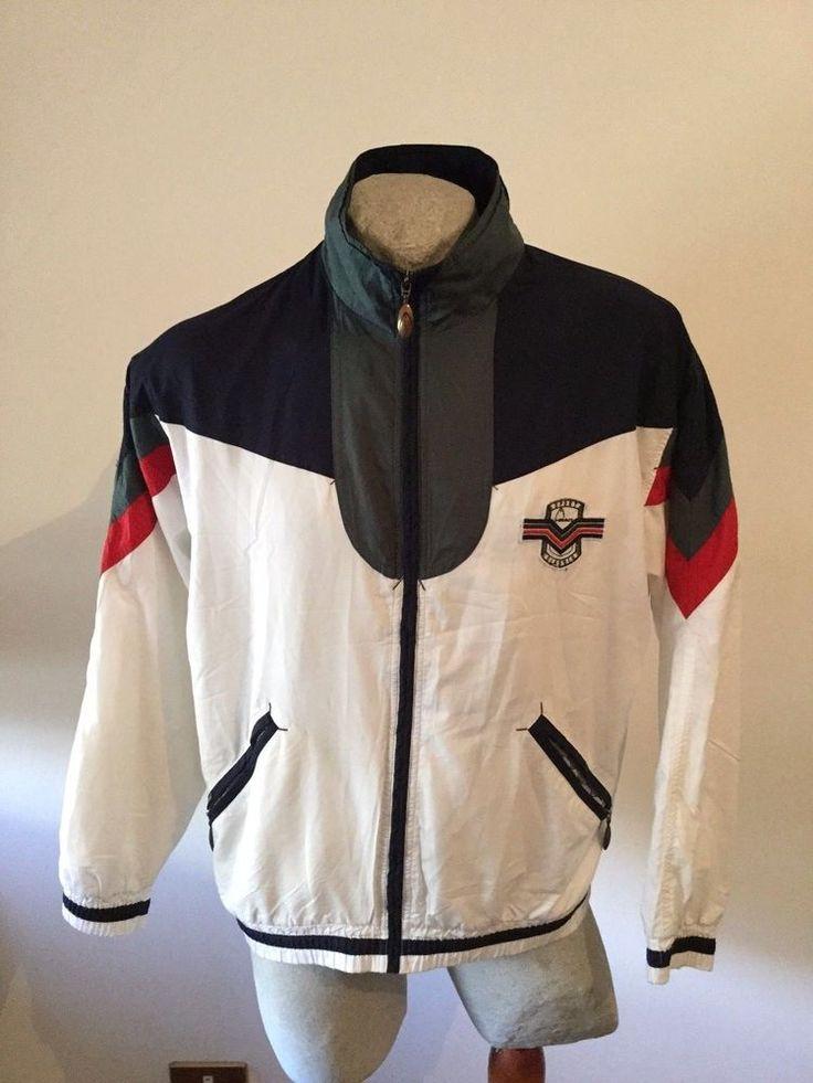 Maglia HEAD TENNIS SPORT CLASSIC felpa sweatshirt jacket jacke chaqueta vintage