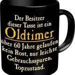 Fun Tasse mit Spruch Oldtimer zum 60. Geburtstag – 60 Jahre