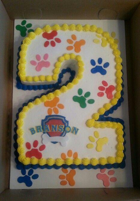 Paw Patrol birthday cake by It's a Piece of Cake