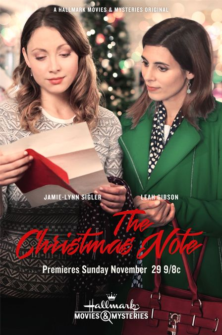 """Its a Wonderful Movie - Your Guide to Family Movies on TV: """"The Christmas Note"""" on Hallmark Movies & Mysteries"""