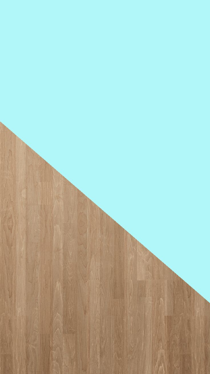 Tiffany Blue + Wood Grain | Free iPhone 6 Background