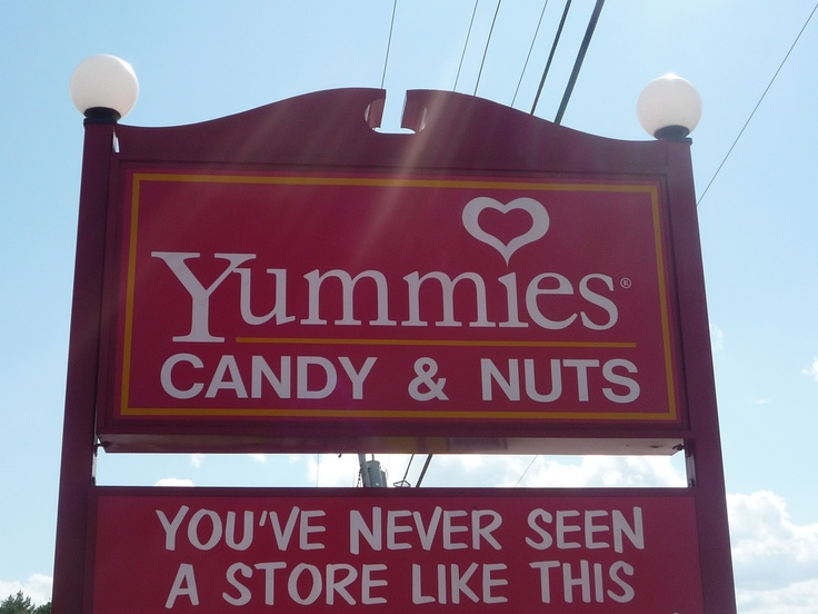 Yummies candy kittery maine sweet honeymoon destination in for New england honeymoon packages