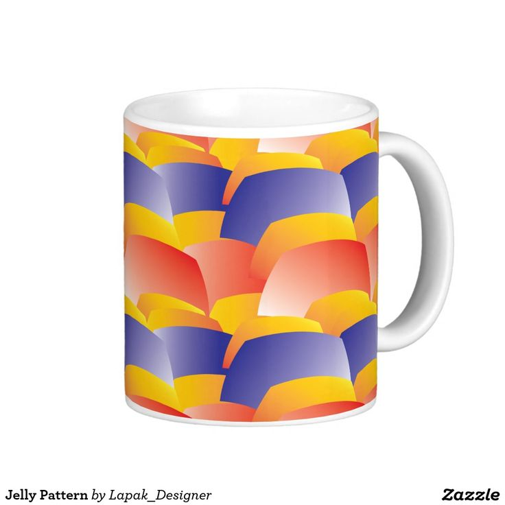 Jelly Pattern Coffee Mug