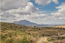 Look at this lot for sale in Prescott, Arizona with beautiful mountain views!  #prescott #az #arizona #mountainview #mountains #beautiful
